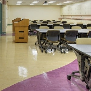 usage_pvc vinyl flooring for school classroon university_China manufacturer