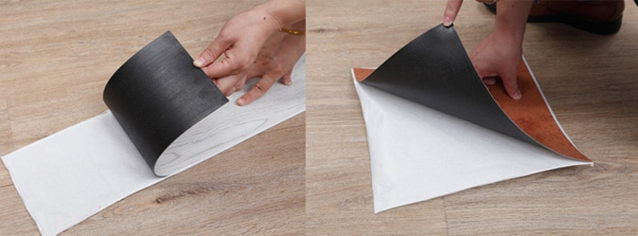 Glue Down Self Adhesive Vinyl Plank Flooring