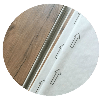Glue Down Plank